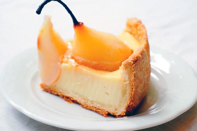 Грушевый тарт смачно фото