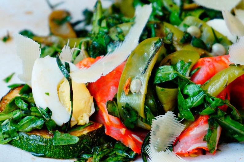 Смачно салат с фасолью и тархуном фото
