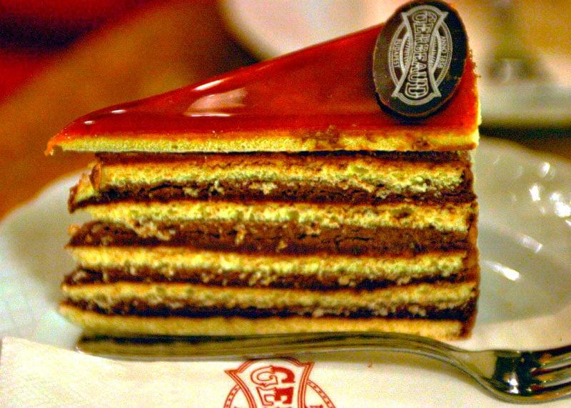 Приготовление шоколадного торта Добош фото