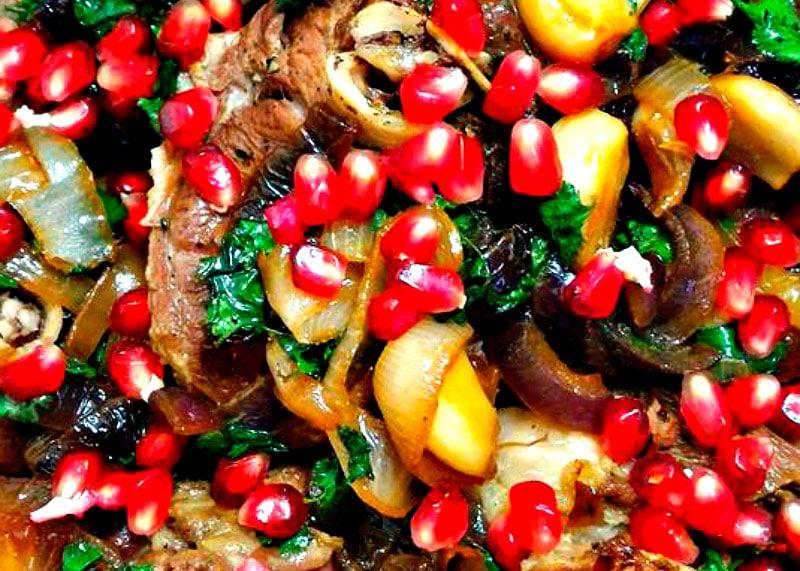 Рецепт приготовления тушеной баранины фото