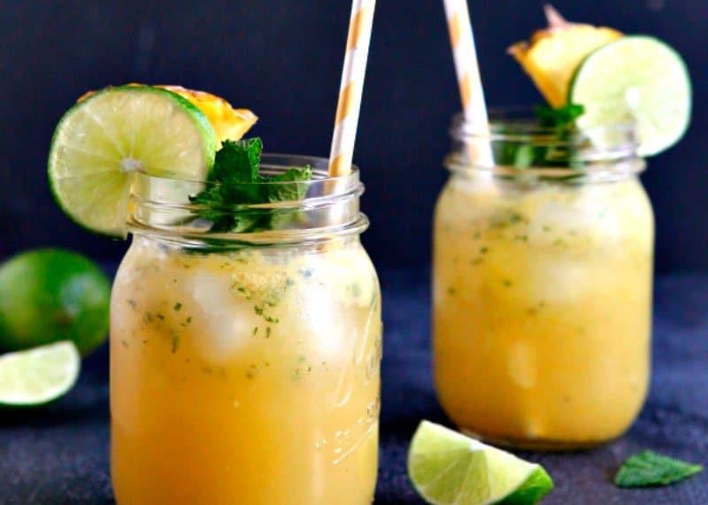 Рецепт коктейля кентукский джулеп с ананасом фото