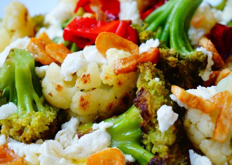 Рецепт цветной капусты и брокколи с сыром фото
