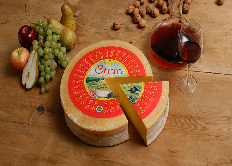 Описание итальянский сыр Битто фото