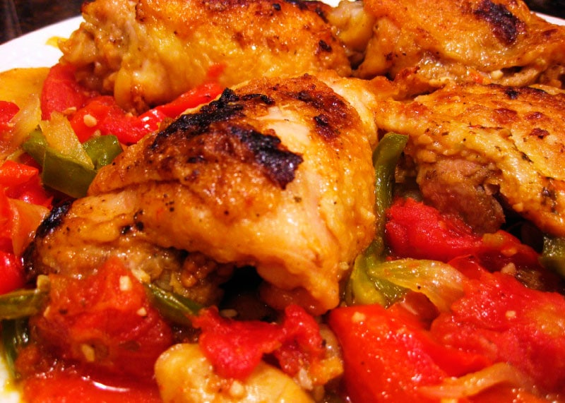 приготовление курицы в духовке фото
