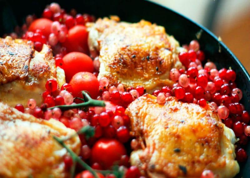 Рецепт приготовления курицы в духовке фото