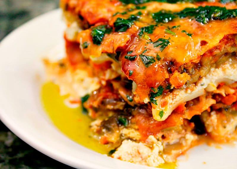 Рецепт приготовления лазаньи с овощами фото