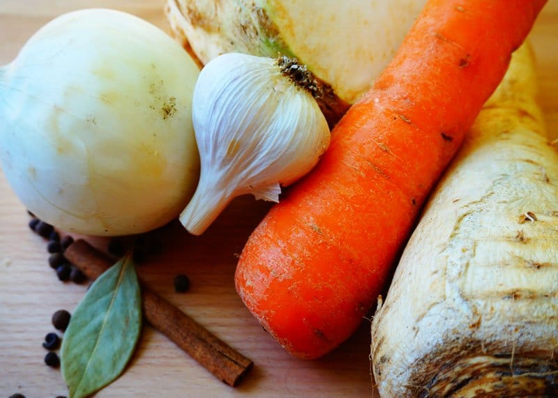 Рецепт овощного бульона фото