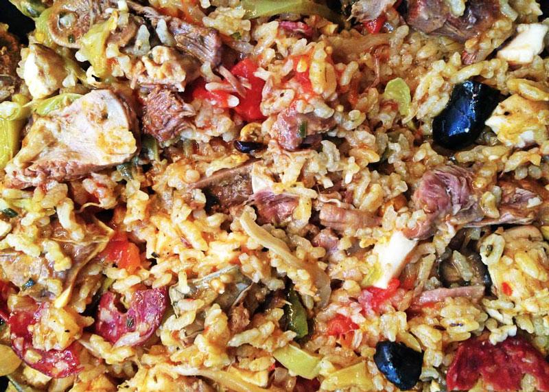Рецепт приготовления паэльи фото