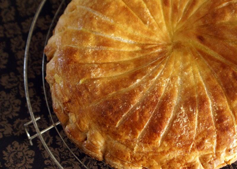 Пирог трех королей или галлет де руа приготовление фото