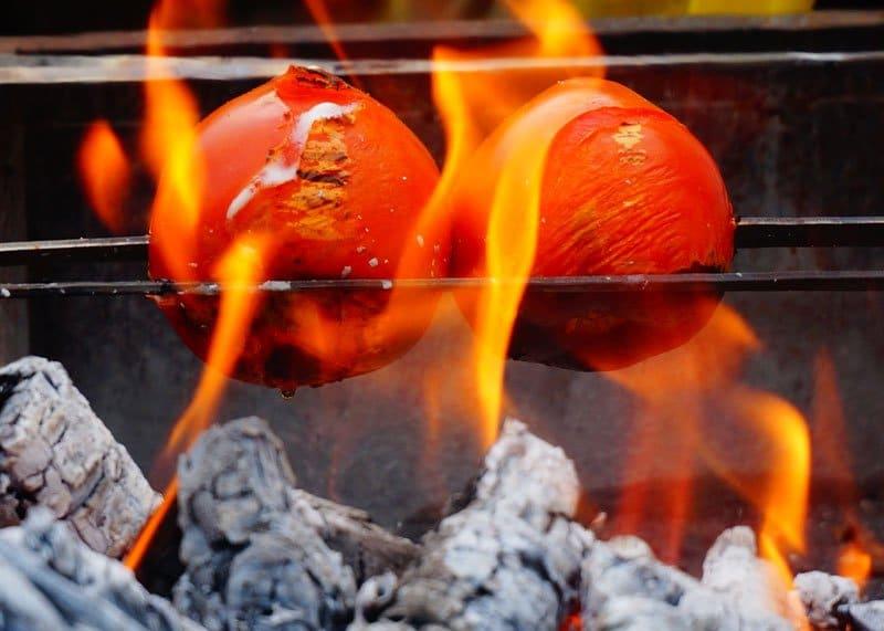 Как приготовить помидоры гриль фото