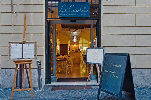 Ресторан Ла Кьямбелла