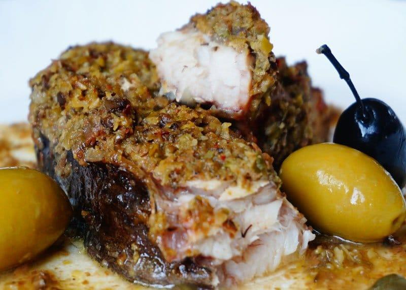 рецепт приготовления запеченной рыбы в остром соусе фото