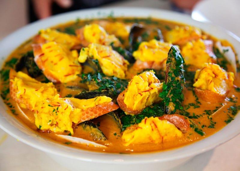 Рецепт приготовления рыбного супа Буйабес фото