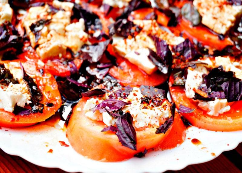 Рецепт приготовления салата Капрезе фото
