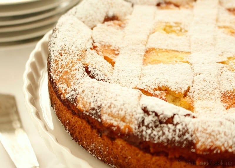 Приготовление сладкого пирога Пастиера Неаполитана фото