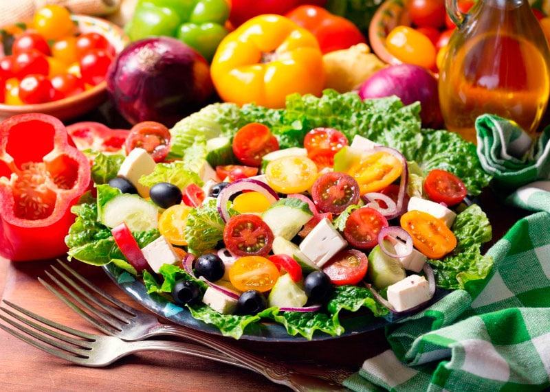 Средиземноморская диета фото
