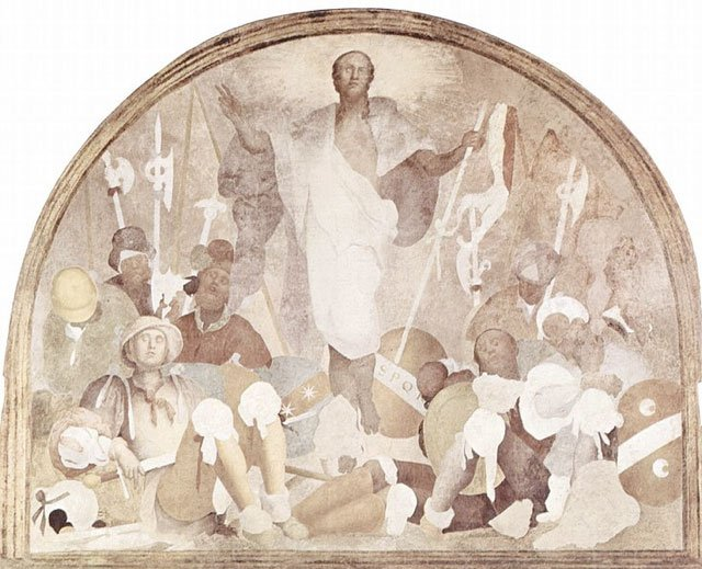 фреска Понтормо фото