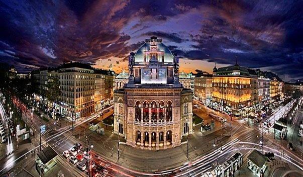 Ночная Вена фото