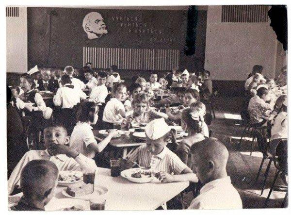 Как обедали в советской столовой фото