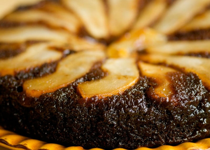 Рецепт приготовления пирога из шоколадного теста и груш фото