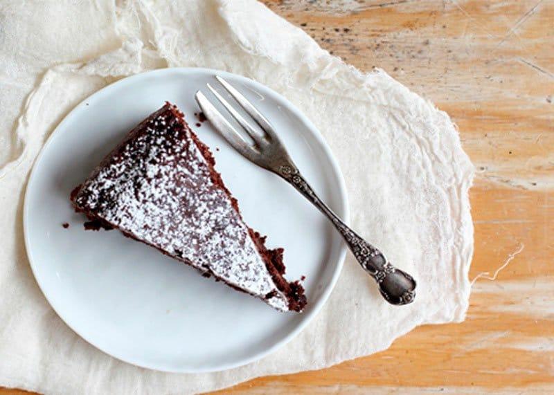Рецепт приготовления шоколадного торта без масла и яиц фото