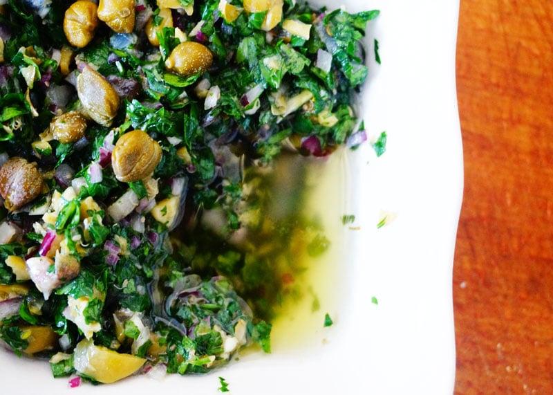 Рецепт итальянского соуса сальса верде фото