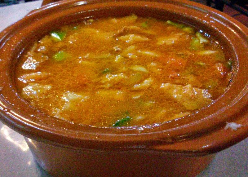 Рецепт приготовления мясного супа со свиными ребрышками фото