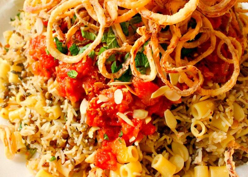 Рецепт пасты с рисом и чечевицей фото