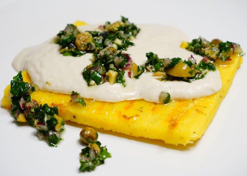 Рецепт рыбного суфле с полентой фото