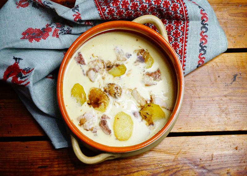 Рецепт приготовления рыбного супа с картофелем и майонезом фото