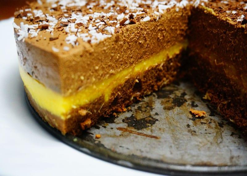 Как приготовить шоколадный крем баваруаз фото