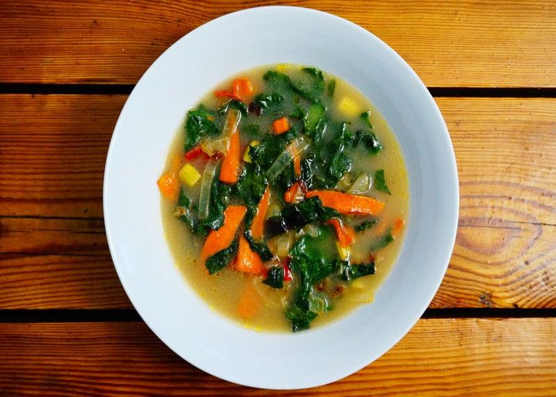 Как приготовить суп из говяжьих щек и нута фото