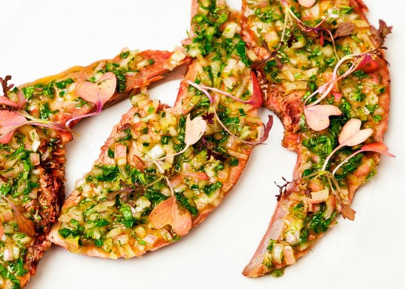 Рецепт свиного языка с соусом равигот фото