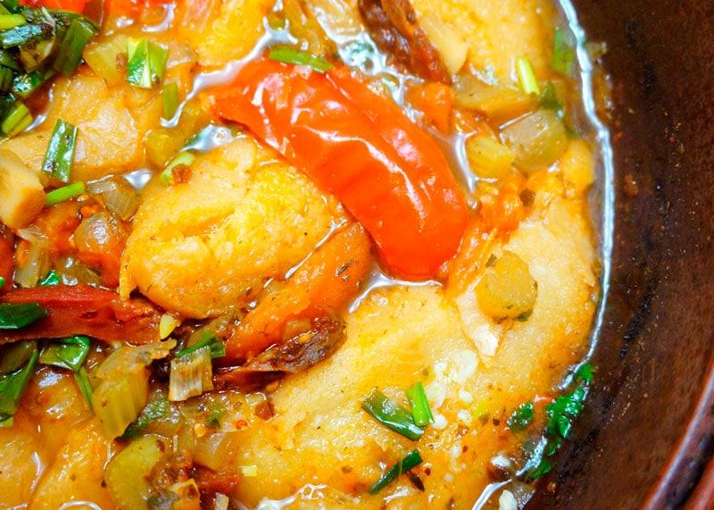 Рецепт супа из камня или аквакотта фото