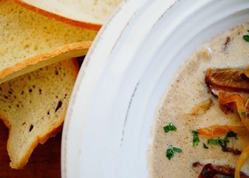 Рецепт крем супа из грибов фото