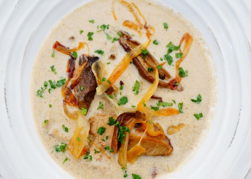 Приготовление крем супа из грибов фото