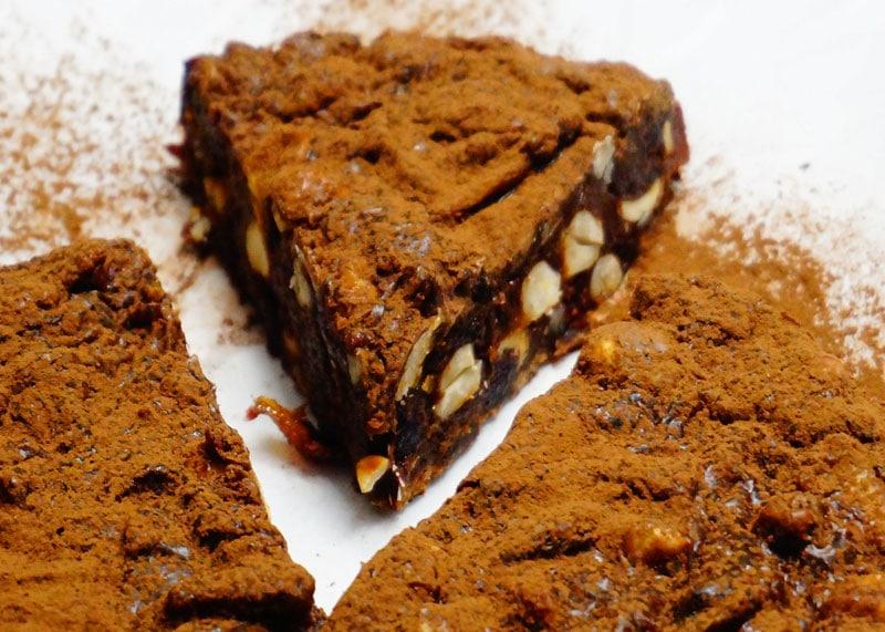 Как приготовить пирог с клюквой и шоколадом фото