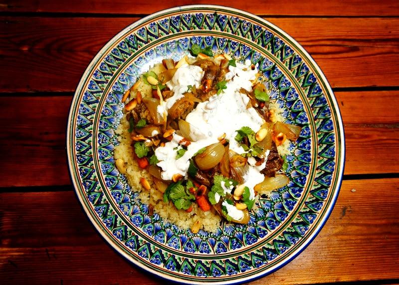 Рецепт рагу из баранины фото