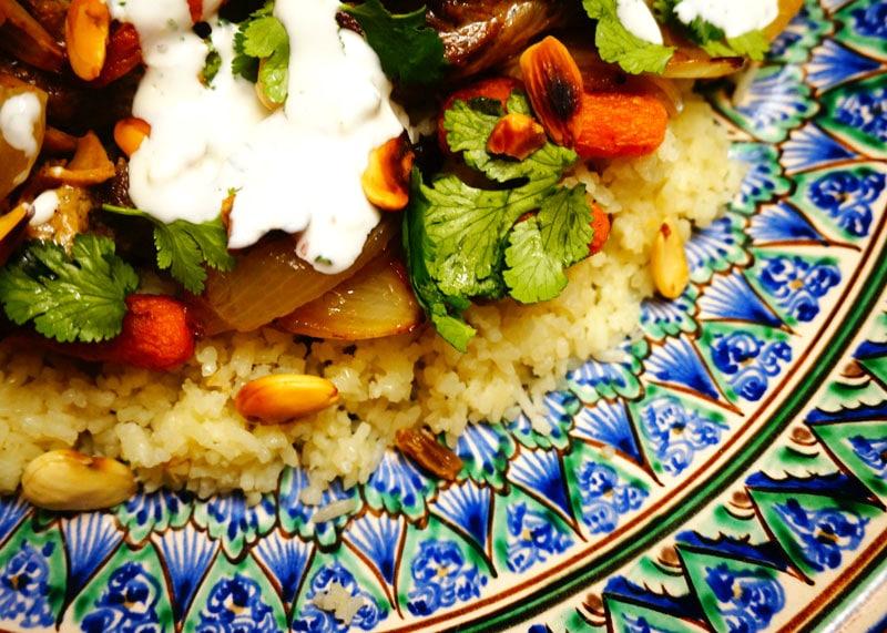 Рагу из баранины с рисом рецепт фото