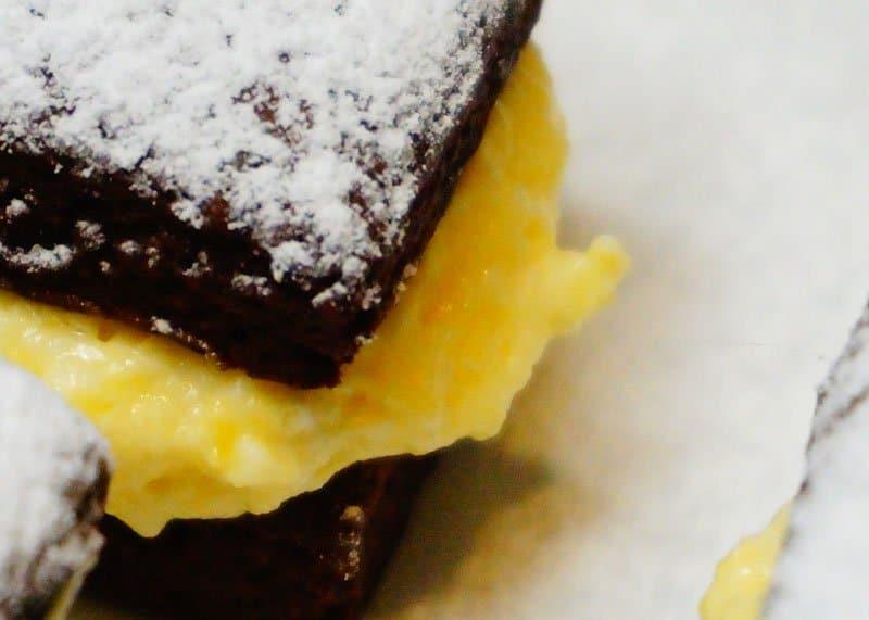Шоколадные коржики рецепт фото
