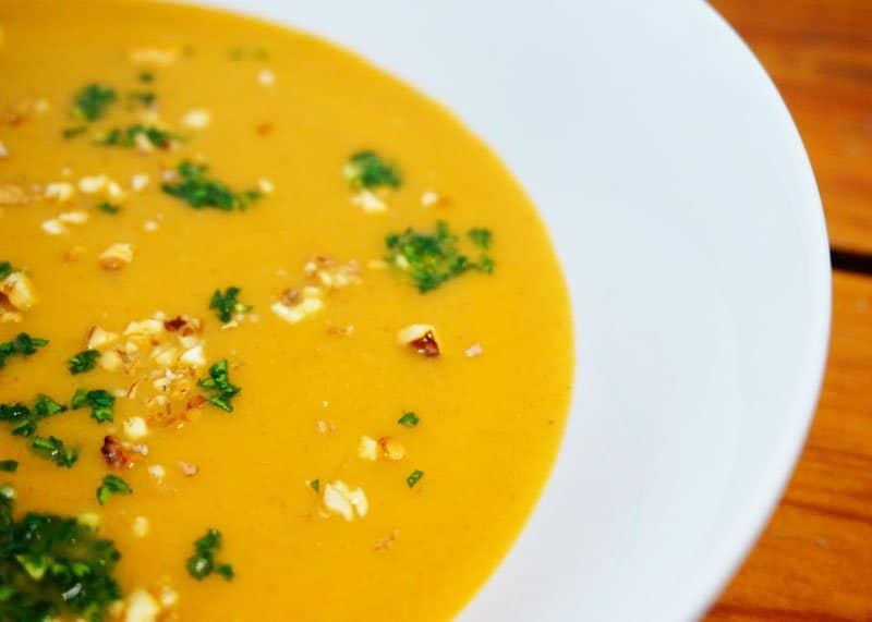 Рецепт супа пюре из пастернака фото