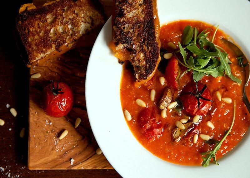 Рецепт супа пюре из помидоров и тыквы фото