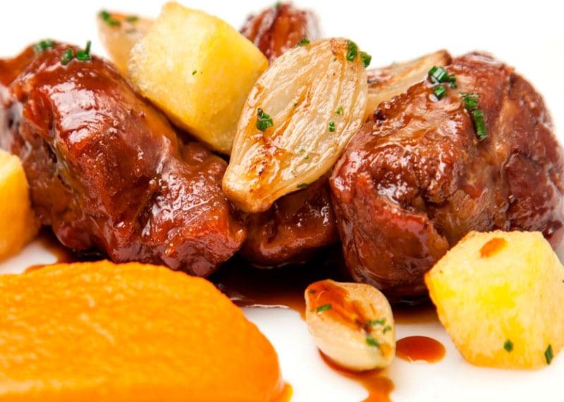 Рецепт свинины в красном пиве фото