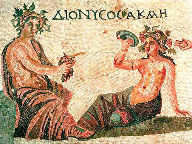 Вино в древней Греции фото