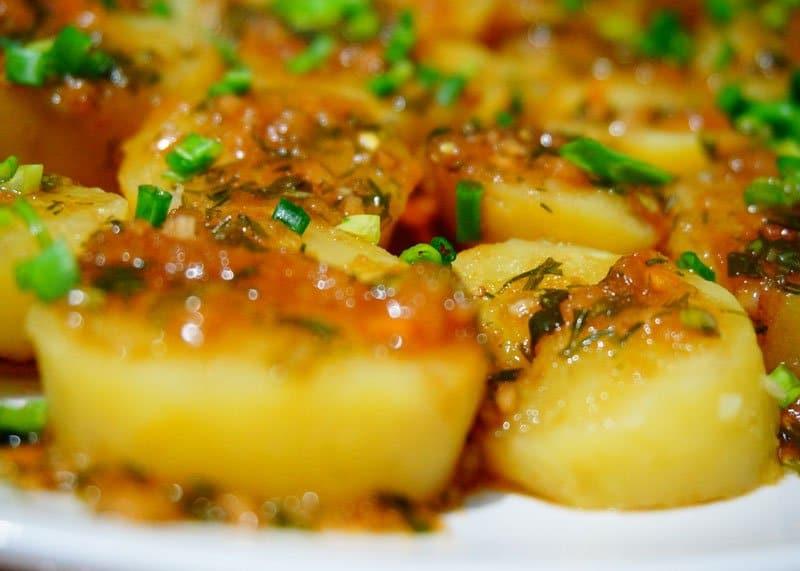 Рецепт картофеля в мундирах фото
