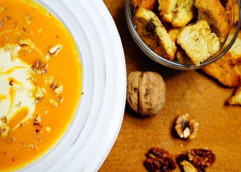 Рецепт крем-супа из моркови фото