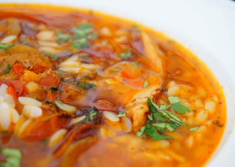 Приготовление марокканского супа из курицы фото
