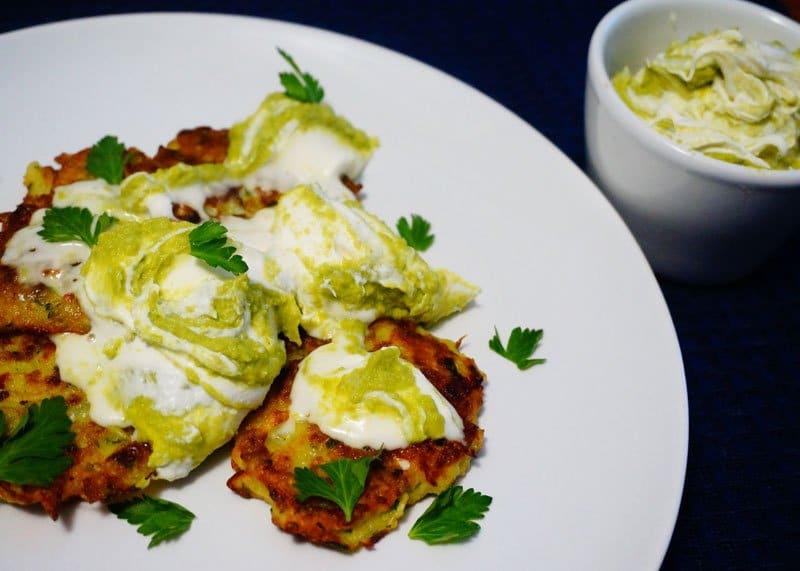 Оладьи из кабачков и картофеля рецепт фото