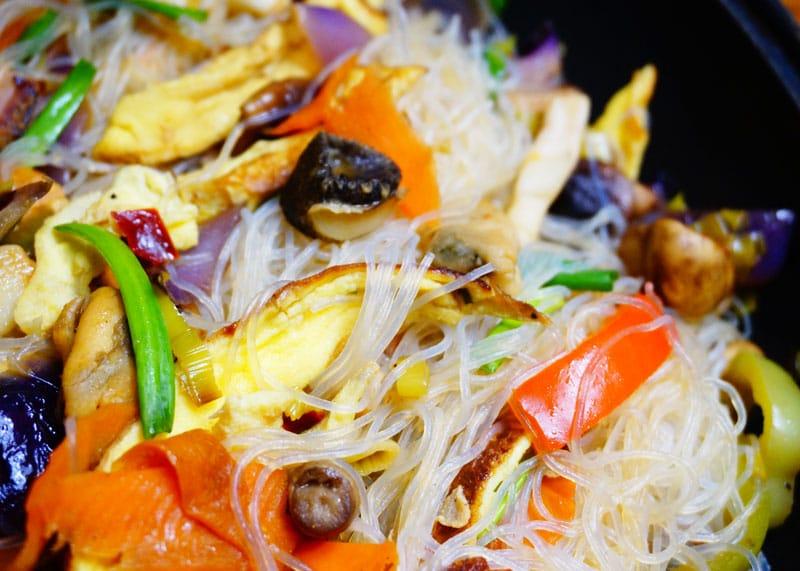 Рисовая лапша с морепродуктами рецепт фото