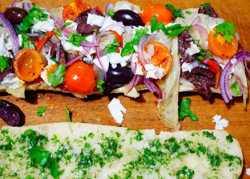 Рецепт сэндвича с овощами фото